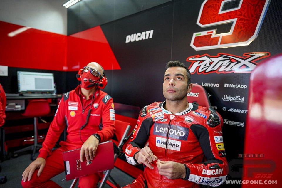 """MotoGP: Petrucci: """"Volevo evitare di fare errori superando Dovizioso"""""""