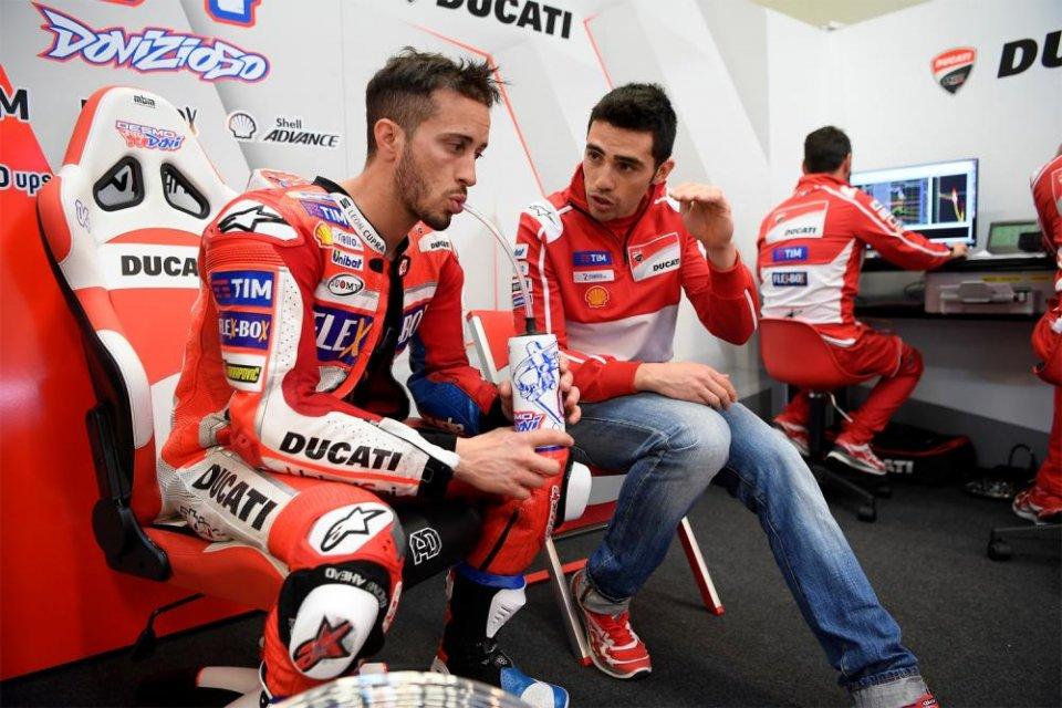 """MotoGP: Pirro: """"Il problema di Dovizioso è la fiducia non la Ducati"""""""