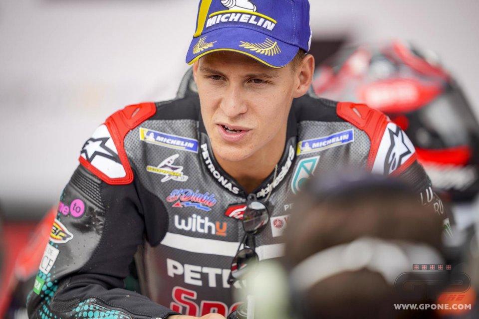 """MotoGP: Quartararo: """"Da Aragon non ho imparato niente. Alex Marquez mi ha stupito"""""""