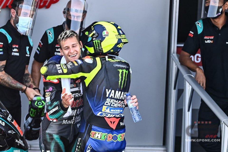 "MotoGP: Quartararo: ""Valentino Rossi is my role model, I'd like to be like him"""