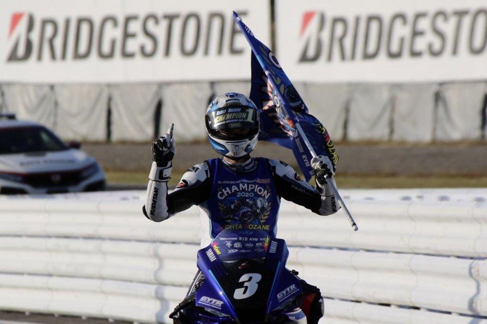 SBK: Nakasuga vince Gara 1 a Suzuka, Nozane è campione All Japan Superbike