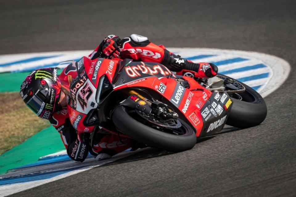 SBK: Estoril: Redding non fa sconti e si prende la FP2, Rea resta a mezzo secondo