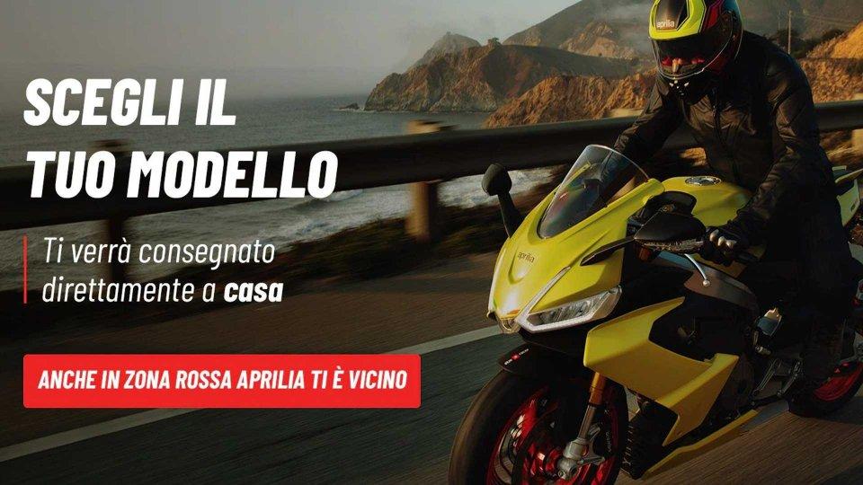 Moto - News: Gruppo Piaggio: acquisti online e consegne a domicilio in Zona Rossa