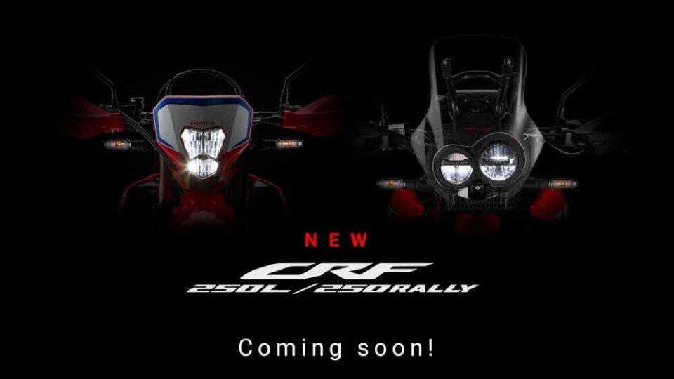 Moto - News: Honda, in arrivo le nuove CRF 250L e 250 Rally