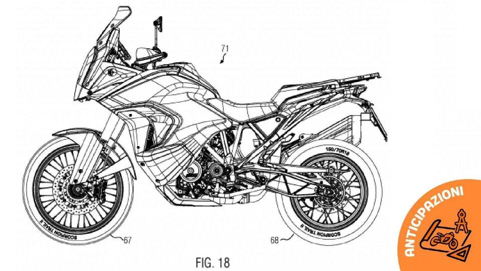 Moto - News: KTM 1290 Super Adventure, serbatoio sdoppiato per il modello 2021