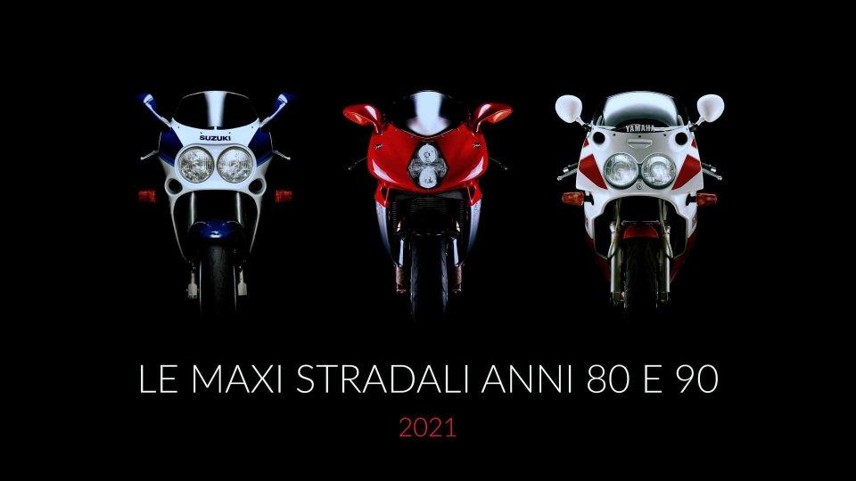 Moto - News: Le Maxi Stradali Anni 80 e 90: bellezze da calendario
