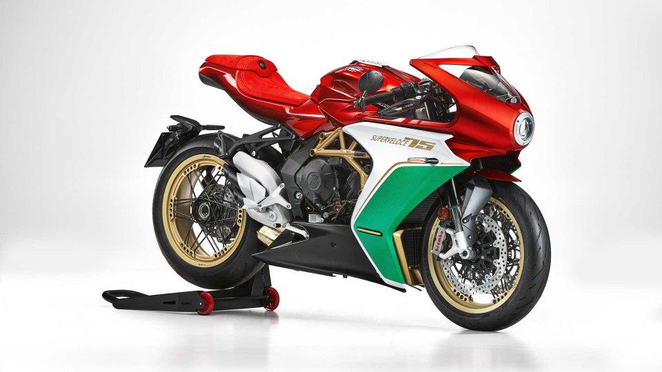 Moto - News: MV Agusta Superveloce 75 Anniversario, la limited-edition tricolore