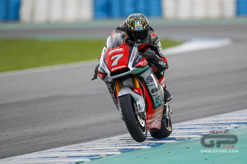 """Moto2: Baldassarri: """"I was afraid that with the MV Agusta I would have to start from scratch"""""""