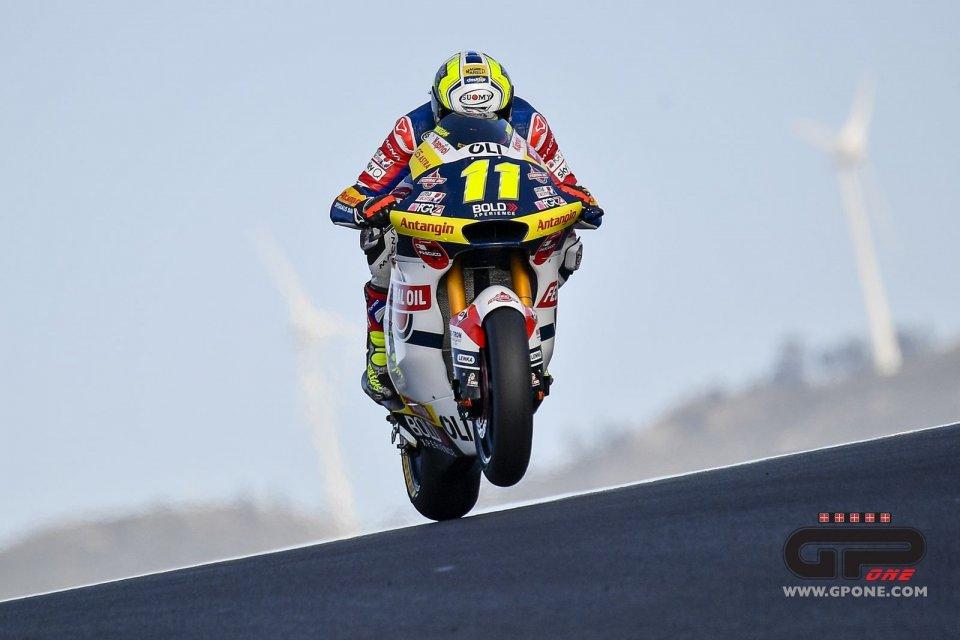 """Moto2: Bulega: """"Ho fatto i complimenti a Mir, nel Cev l'avevo anche battuto"""""""
