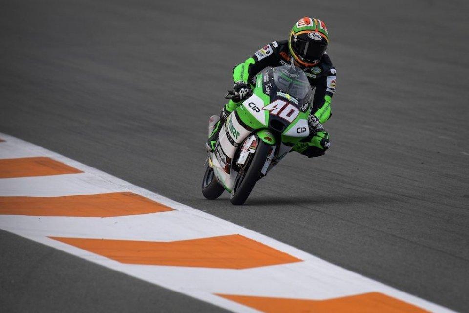 Moto3: Arenas davanti ad Ogura a Valencia, ma la pole è di Binder