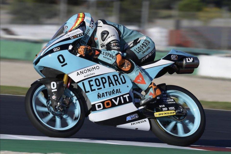 Moto3: Portimao: Masia primo in FP3, ma dovrà fare due Long Lap Penalty in gara
