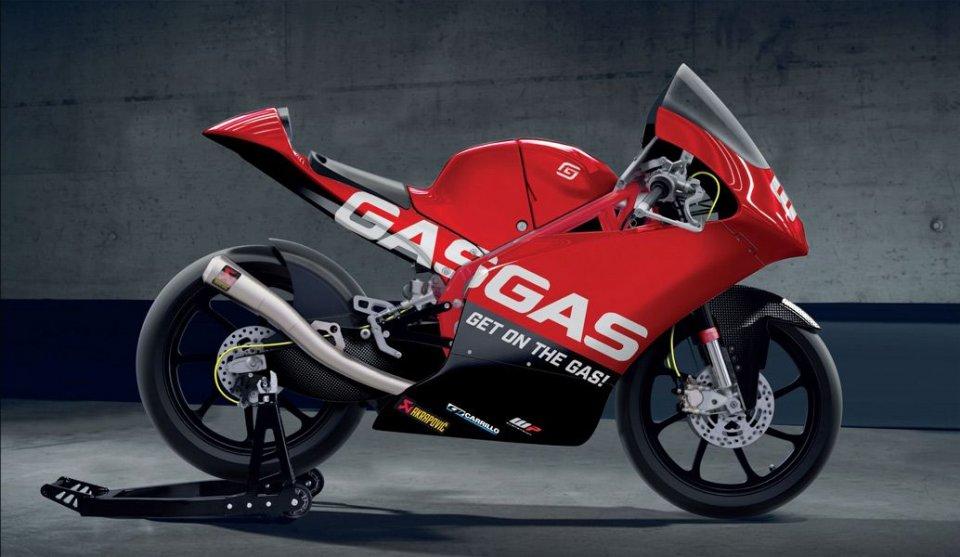 Moto3: GasGas debutta nel Mondiale Moto3 nel 2021 con il team Aspar