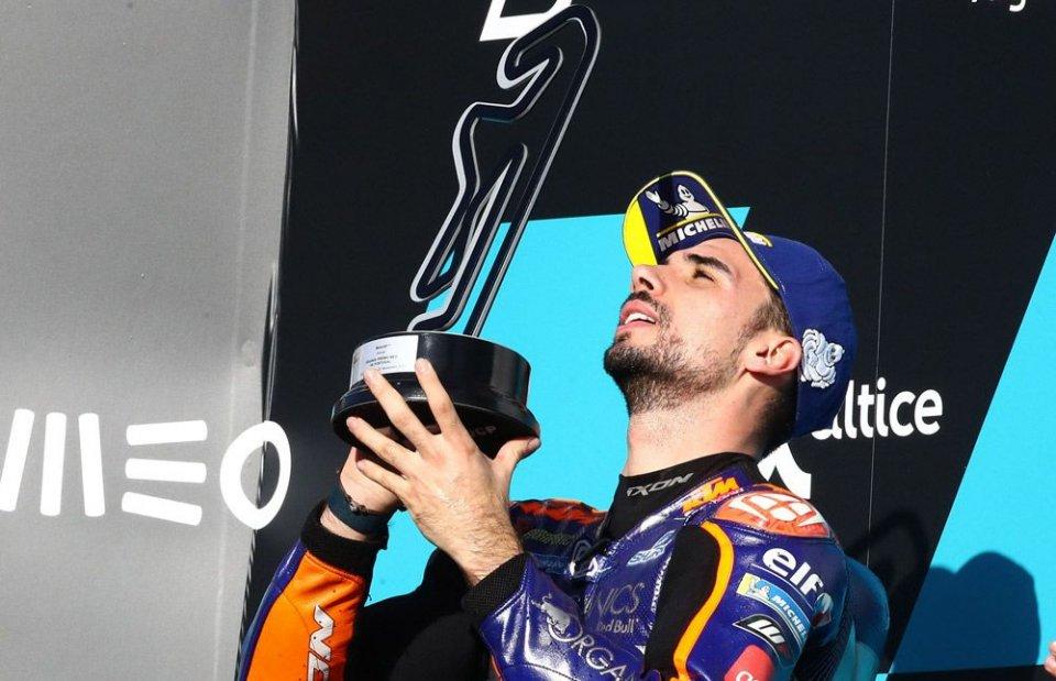 "MotoGP: Oliveira: ""Ho pensato solo a vincere, senza guardarmi indietro"""