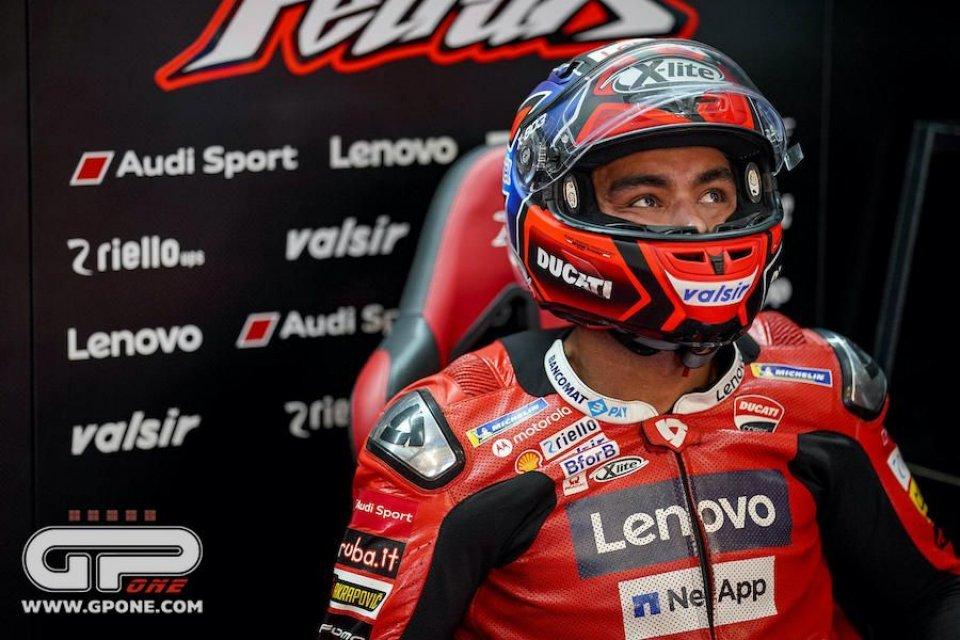 """MotoGP: Petrucci: """"Se non pioverà potrò utilizzare i dati di Michele Pirro"""""""