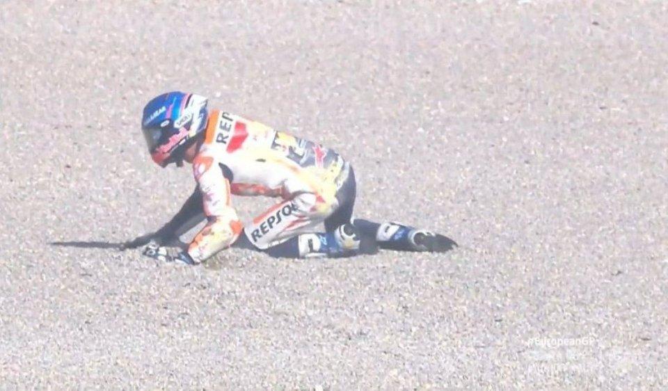 """MotoGP: Alex Marquez: """"La Ducati di Dovizioso mi ha risucchiato e sono caduto"""""""