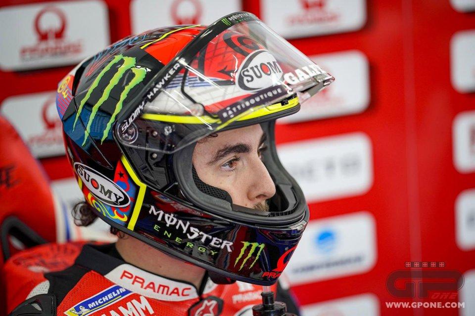 """MotoGP: Bagnaia: """"Sarei stato il miglior pilota Ducati, andavo come le Suzuki"""""""