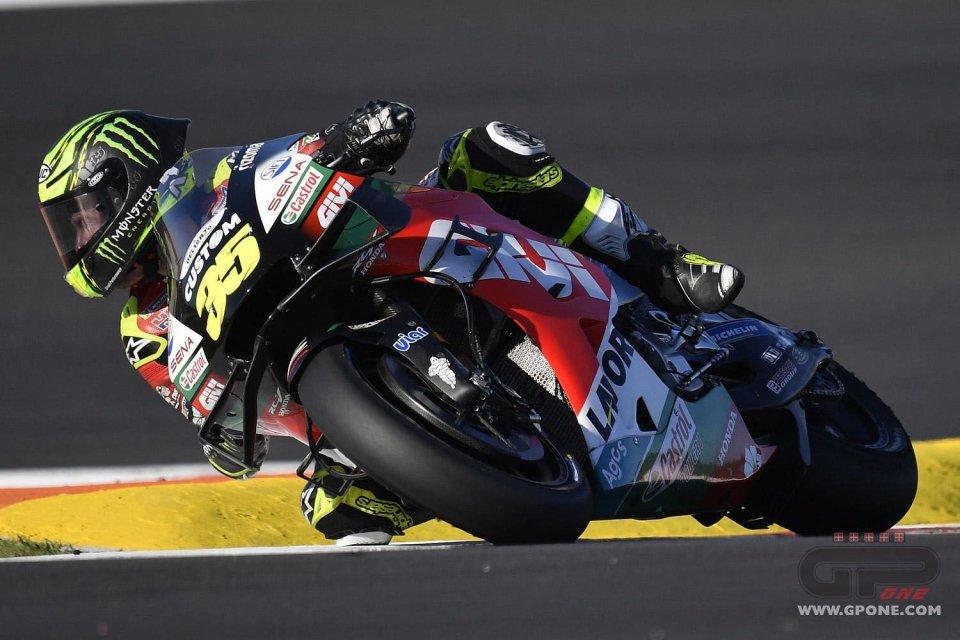 MotoGP: Crutchlow si prende l'ultimo Warm Up a Portimao. Male Rossi e Dovizioso