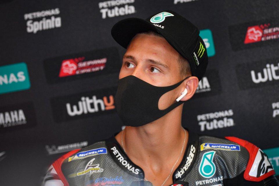 """MotoGP: Quartararo: """"Sono triste, ma c'è una soluzione ai problemi della Yamaha"""""""