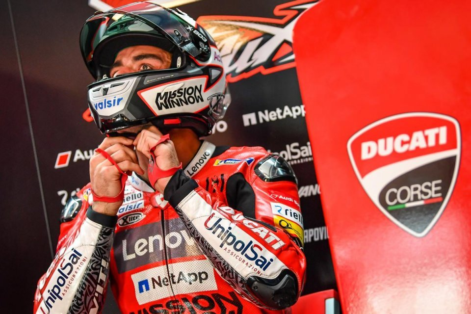 """MotoGP: Petrucci shaken by Iannone ban: """"In Malaysia I ate next to him"""""""