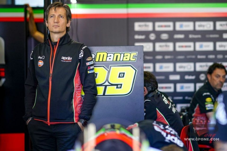 """MotoGP: Rivola: """"In Aprilia there is a new atmosphere, we have clear ideas on the engine"""""""