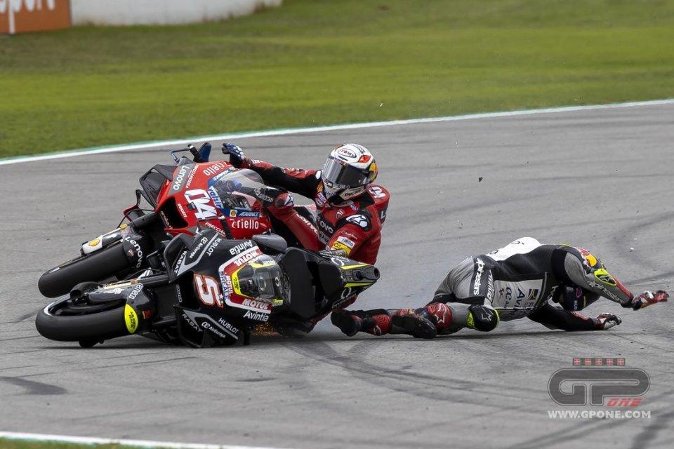 MotoGP: In 2020 fewer races but more falls, Zarco is the best 'stuntman' in MotoGP