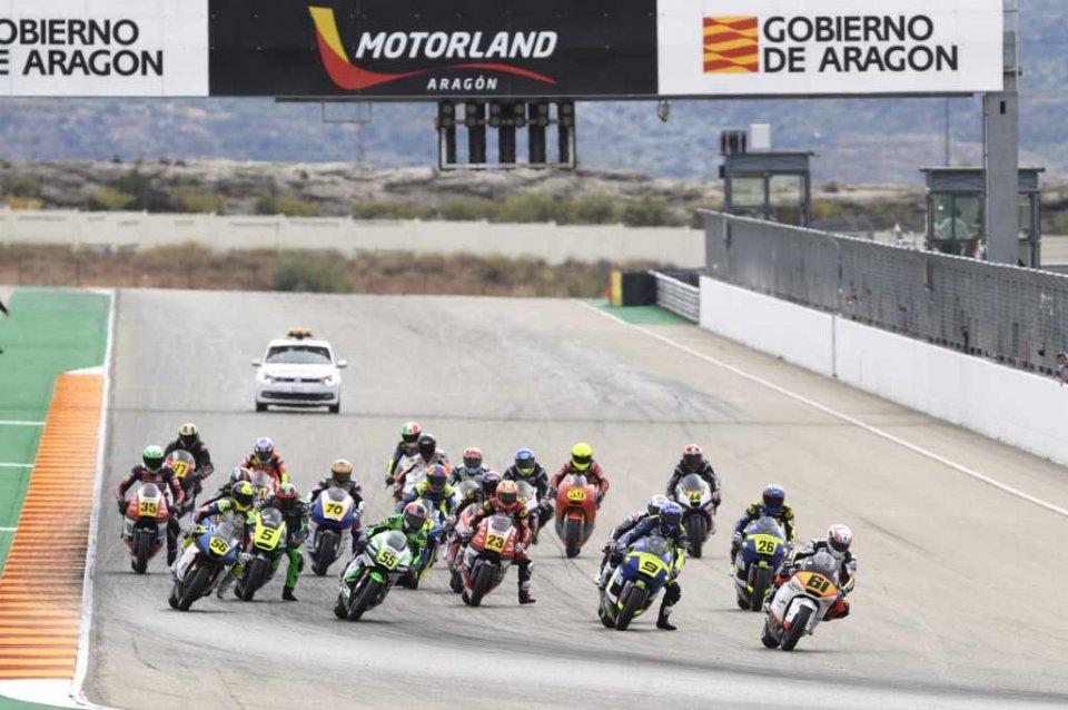 News: Calendario provvisorio 2021 CEV Moto2 Campionato Europeo e Talent Cup