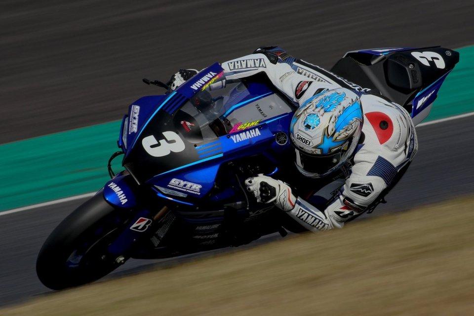 SBK: All Japan Superbike, Nozane vince Gara 2 a Suzuka, Nakasuga a terra