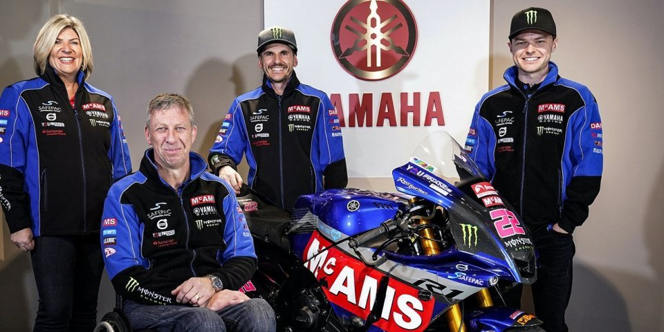 SBK: BSB, O'Halloran e Mackenzie rinnovano con McAMS Yamaha per il 2021