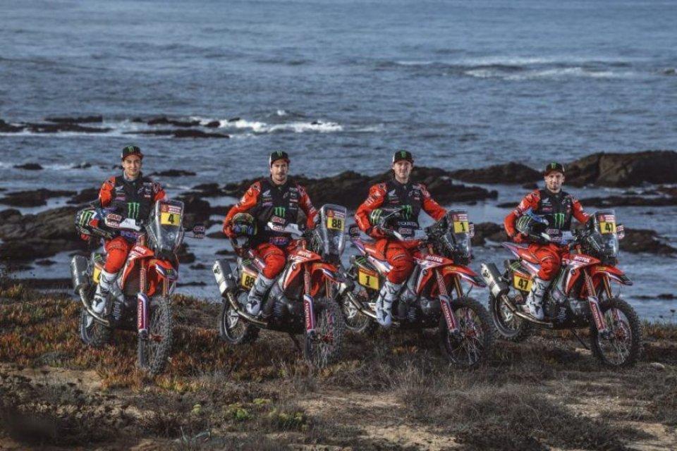 Dakar: Honda-HRC: il riscatto in MotoGP parte dalla Dakar