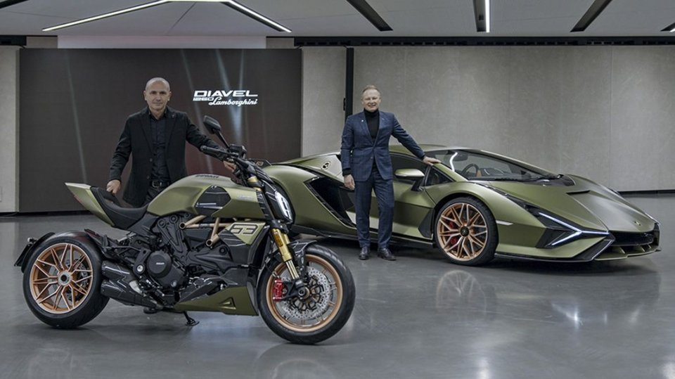 Moto - News: Ducati and Lamborghini still Volkswagen's: no sale in sight