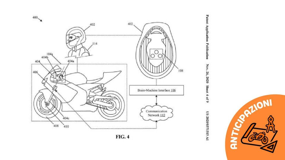Moto - News: Honda brevetta la moto che legge nel pensiero
