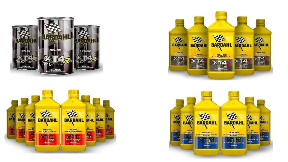 Moto - News: Bardahl, arrivano i lubrificanti della gamma XT per le moto 4 tempi