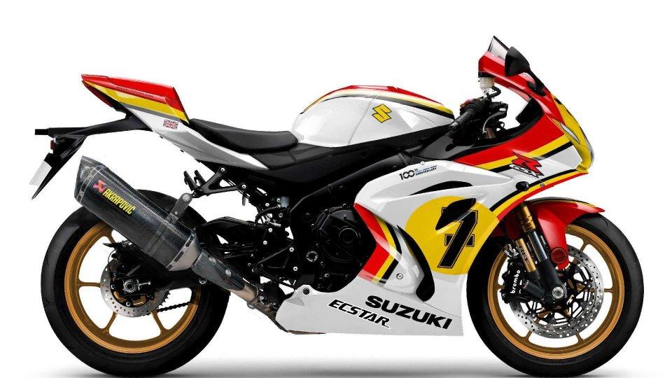 Moto - News: Suzuki GSX-R1000R Legend Edition, la superbike con le livree dei campioni