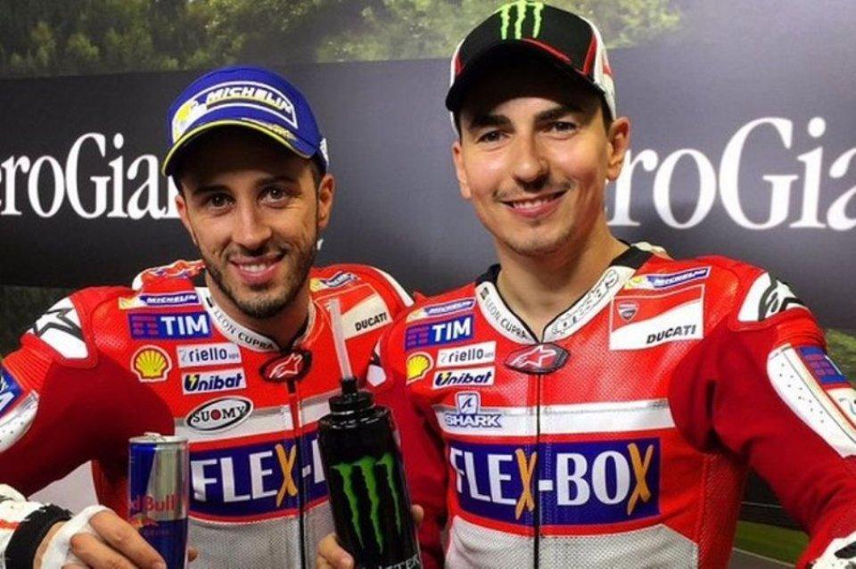 """MotoGP: Lorenzo: """"A Dovizioso ha fatto male vedermi pagato 12 volte più di lui"""""""