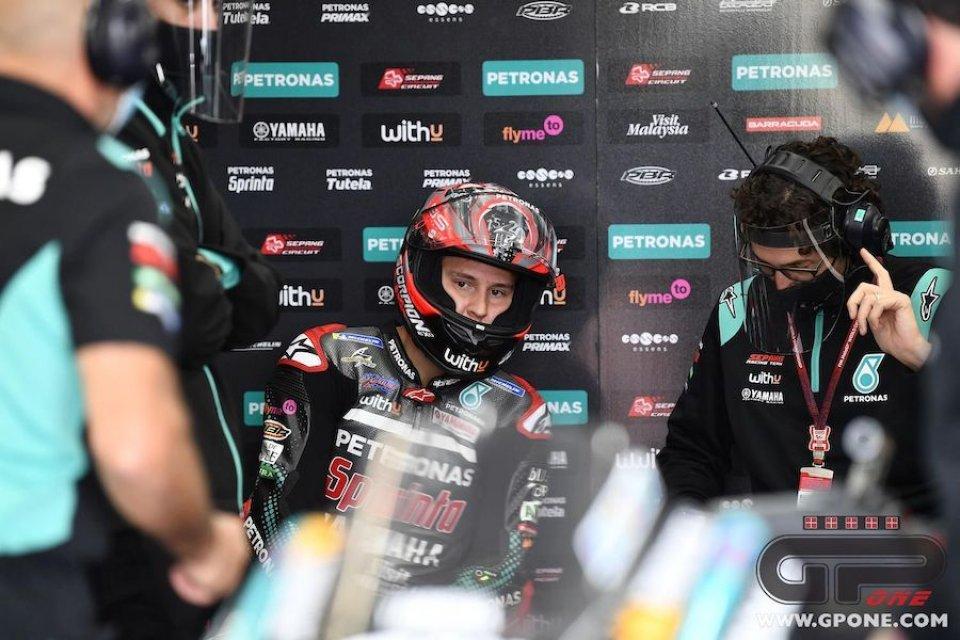 """MotoGP: Quartararo: """"In inverno lavorerò con lo psicologo per gestire lo stress"""""""