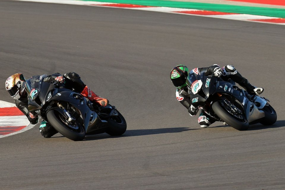 SBK: BSB, three British Superbike teams in action at Portimão in preparation for 2021