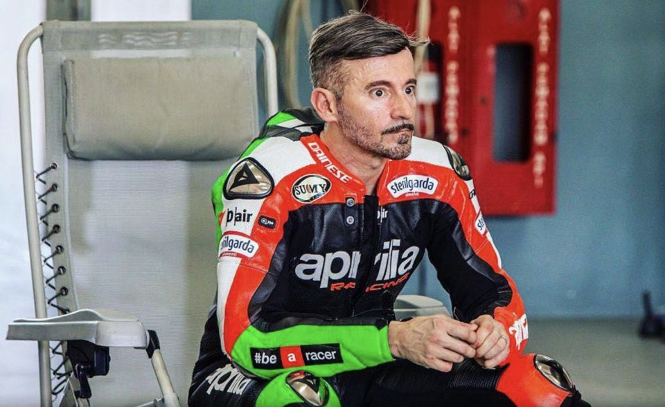 Max Biaggi, signs from the future
