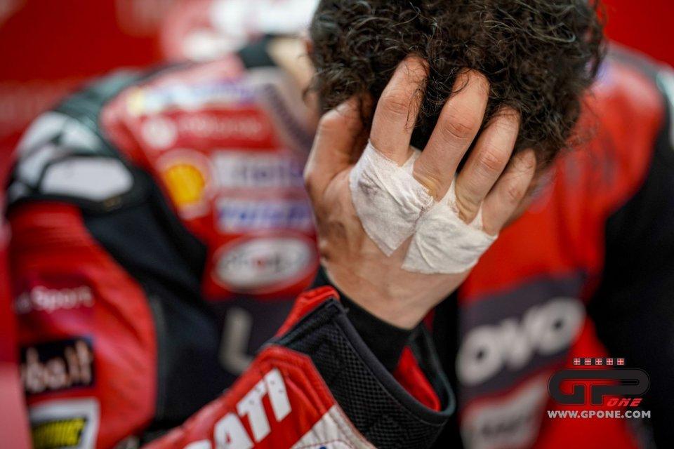 Dovizioso's accident: when Alboreto lied to Ferrari at Monza
