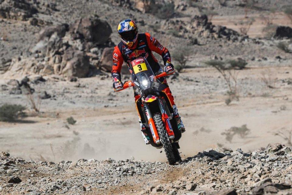 Dakar: Price e KTM si prendono la 2^ tappa alla Dakar, sprofondano Brabec e Honda
