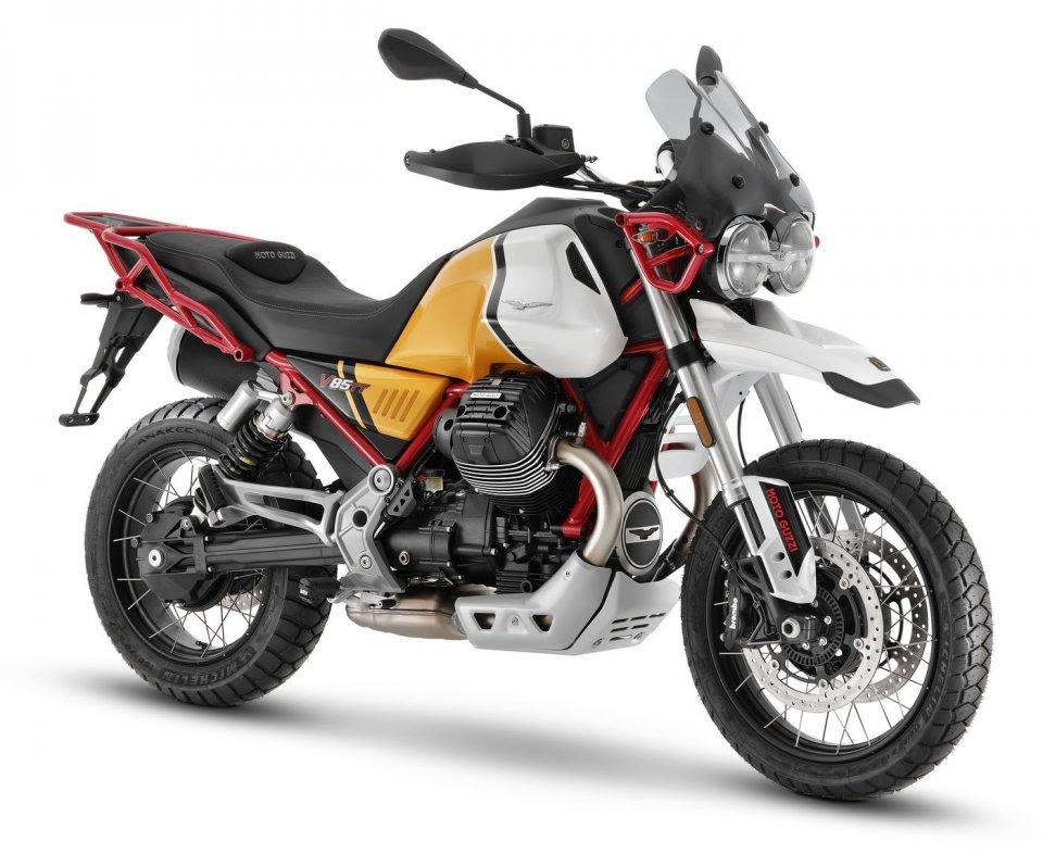 Moto - News: MOTO GUZZI: svelate le grandi novità 2021 per la gamma V85, foto e dettagli