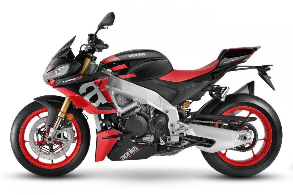 Moto - News: Aprilia Tuono V4: ecco le foto ufficiali! Tutti i dettagli e caratteristiche