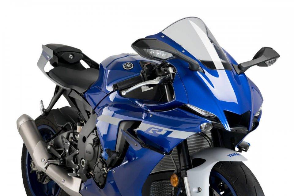 Moto - News: Yamaha R1 2020 con ali da MotoGP: la linea di accessori dedicata Puig