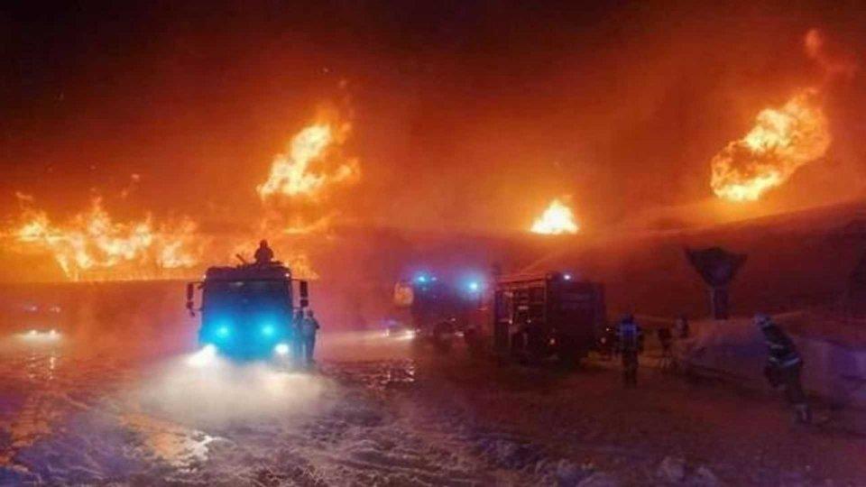 Moto - News: Incendio nel Museo sul Passo del Rombo: oltre 200 moto in fiamme