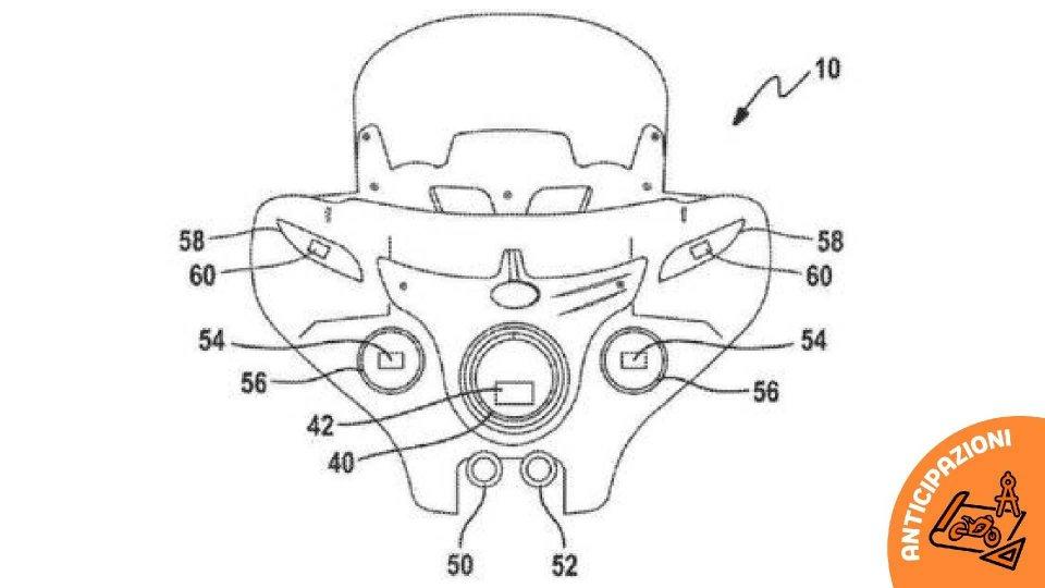 Moto - News: Indian brevetta i fari adattivi integrati con i radar