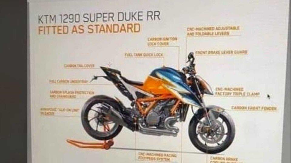 Moto - News: KTM 1290 Super Duke RR 2021: nuovi dettagli
