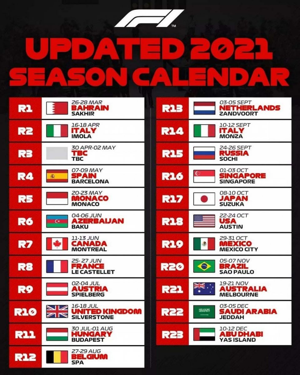MotoGP: La F.1 cambia calendario, attese novità anche per la MotoGP