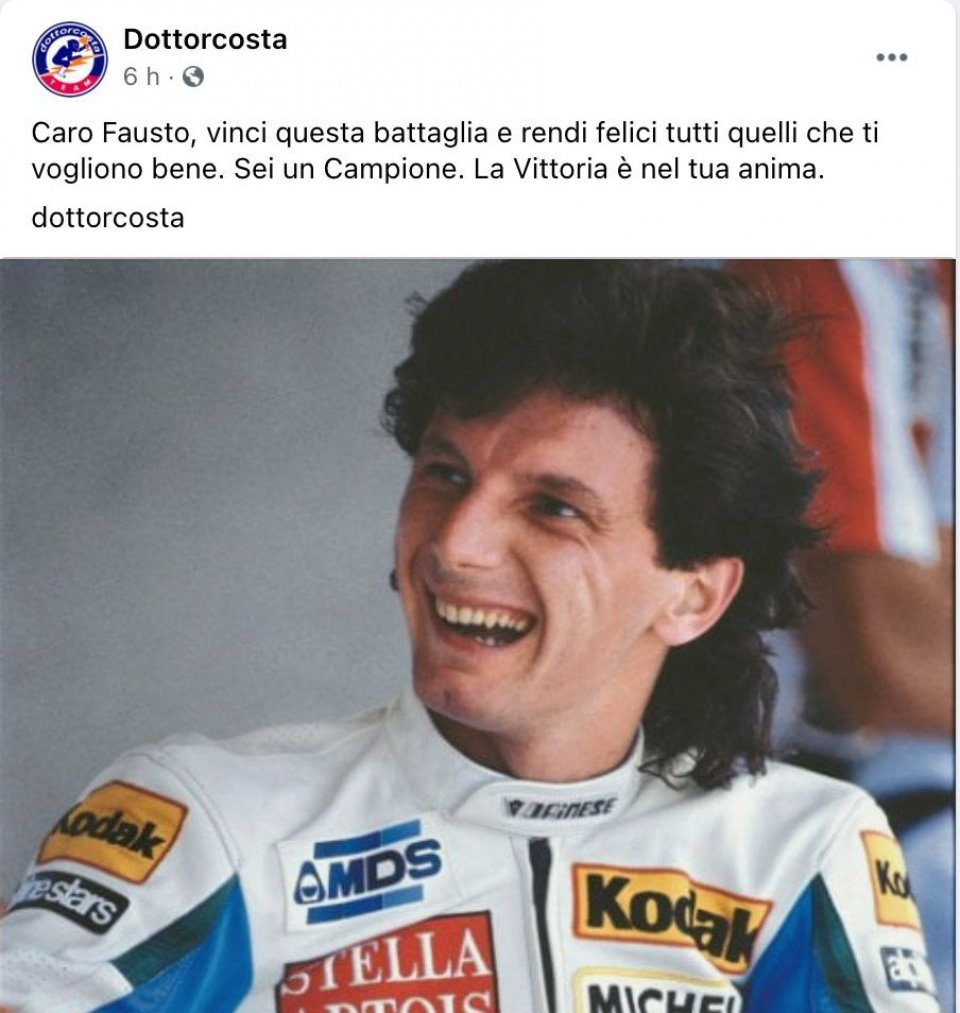 """MotoGP: Doctor Costa's wish to Gresini: """"the victory is in your soul"""""""