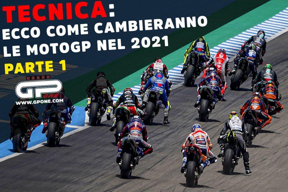 MotoGP: TECNICA: Ecco cosa faranno le Case MotoGP per migliorare nel 2021 - Parte 1