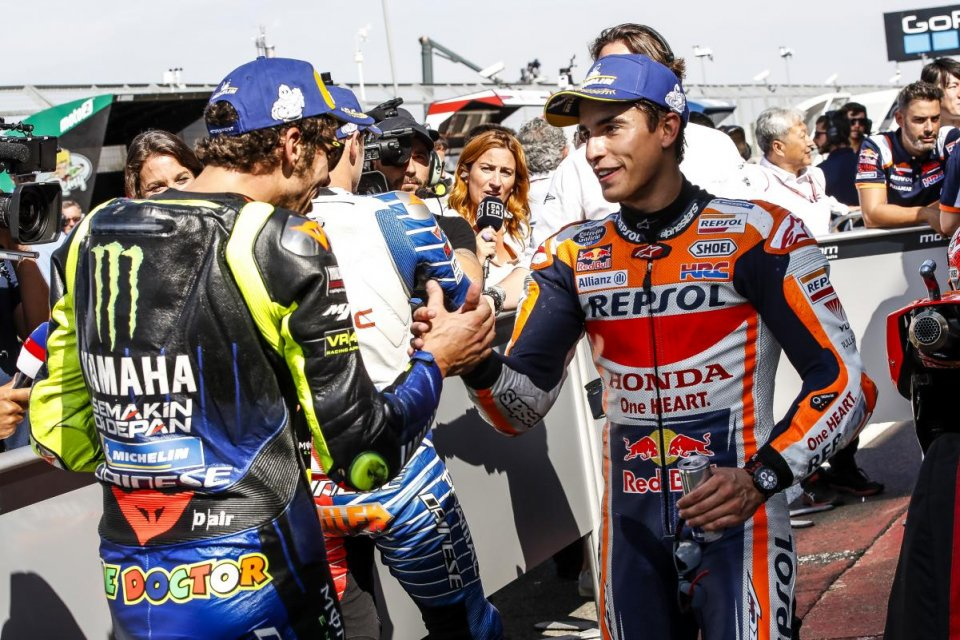 MotoGP: It's time to scrap riders: Rossi remains, Marquez the only one on the same bike