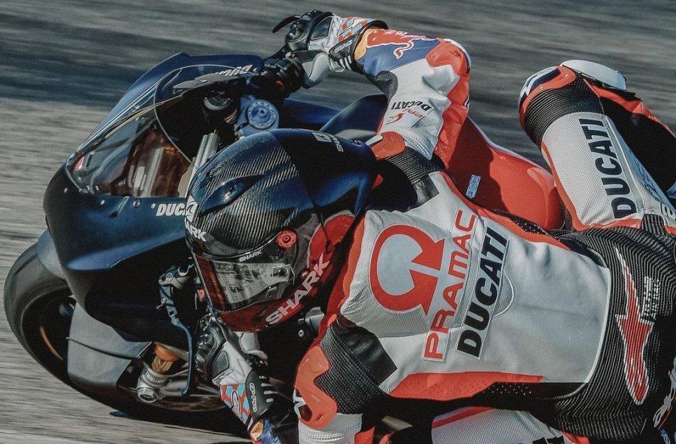 MotoGP: Jorge Martin: primo contatto con la Ducati a Cartagena